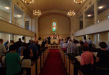 Worshipping Together at Belmont Baptist Church